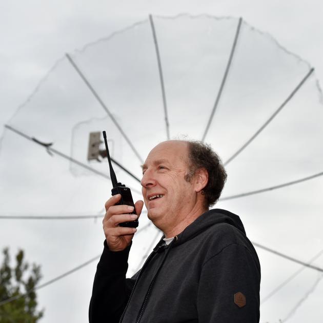 Amateur radio operator and New Zealand Association of Radio Transmitters Otago branch president...