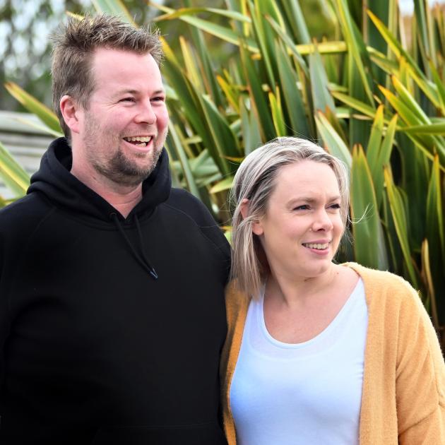 Moiety owner operators Sam Gasson and Kim Underwood. PHOTO: CHRISTINE O'CONNOR