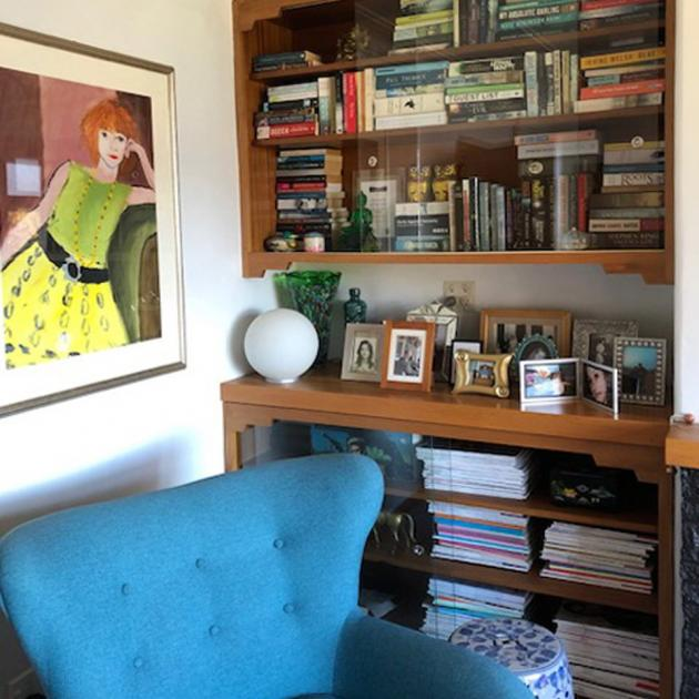 An actual bookcase. PHOTO: SUPPLIED