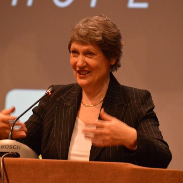 Former Prime Minister Helen Clark. Photo: Getty