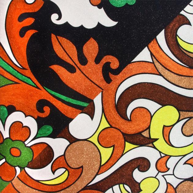 Reuben Paterson's 'Whakapapa: Get down on your knees IV.'