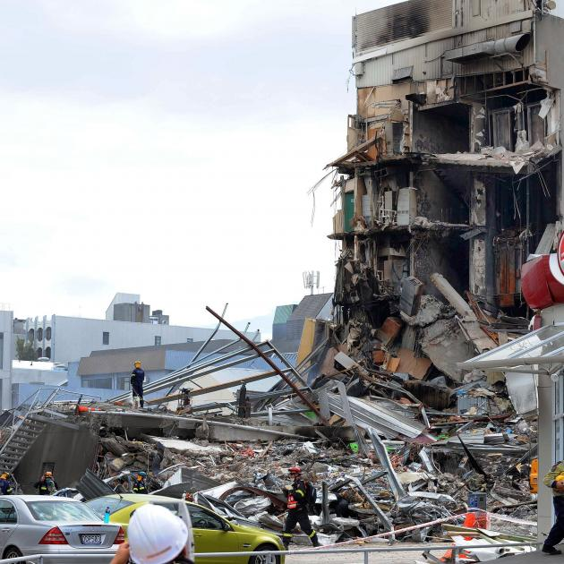In Christchurch the two buildings that killed the most people in the February, 2011 earthquake...