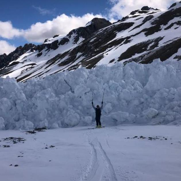 Aoraki/Mt Cook has a year-round avalanche forecast due to the continued risk. Photo: Supplied