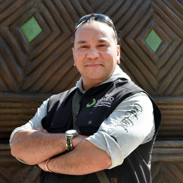 Rue-Jade Morgan is the recipient of an award recognising his work with Otago Corrections Facility...