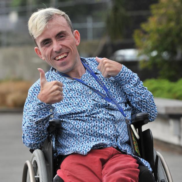 Dunedin man Joshua Perry (29) is happy with KiwiSaver changes. PHOTO: LINDA ROBERTSON