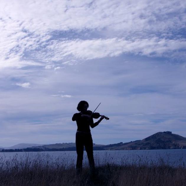 Tessa Petersen violinist. Photo: Supplied
