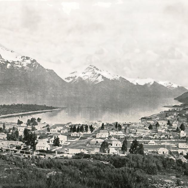 Lake Wakatipu and Queenstown circa 1895. PHOTO: GETTY IMAGES