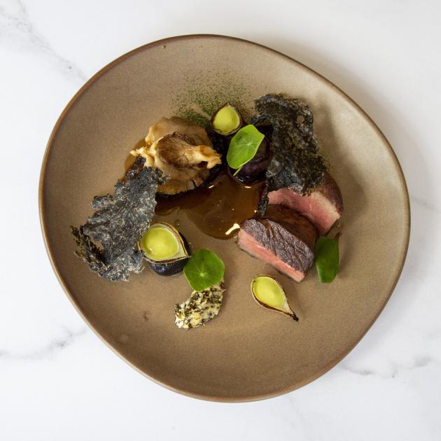 Minhinnick's beef dish.