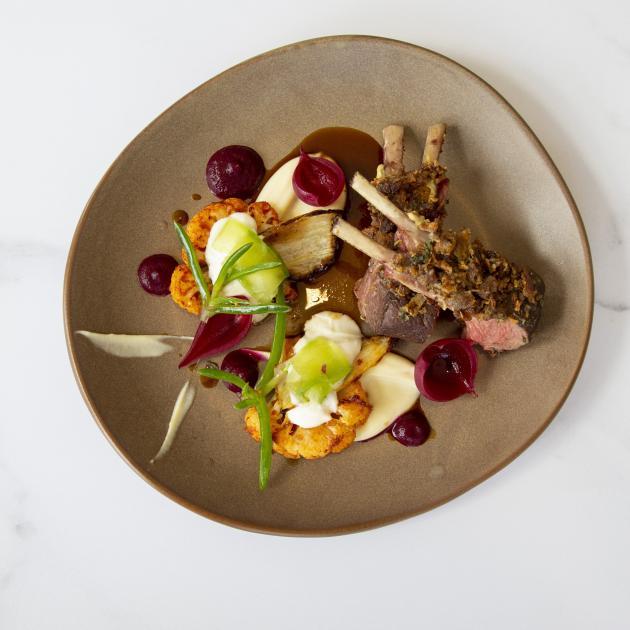 Minhinnick's lamb dish.