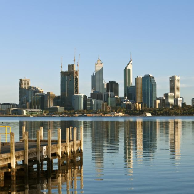 Swan River, Perth city skyline. Photo: Getty Images