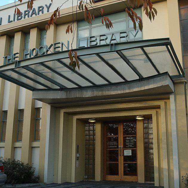 The Hocken Library. Photo: ODT files