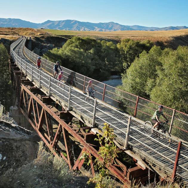 The Otago Central Rail Trail. Photo: Supplied