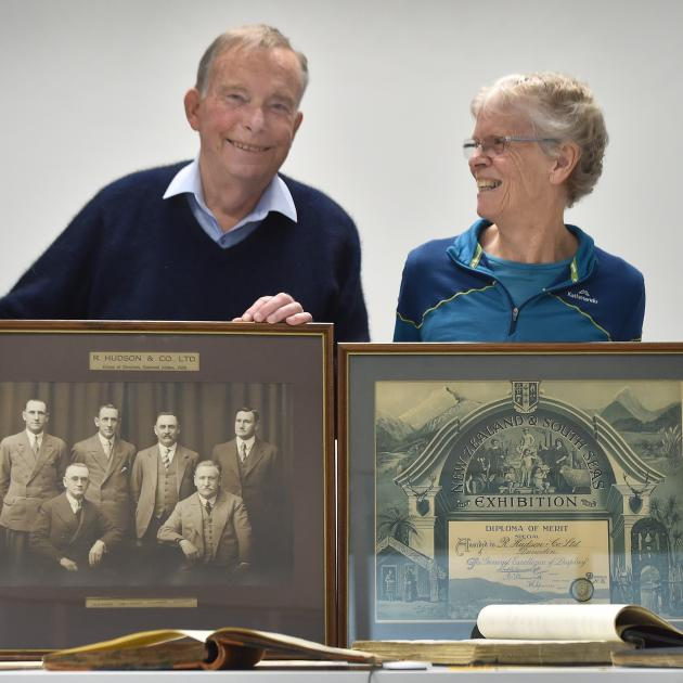 Former Cadbury executive Paul Hudson and family historian Jennifer Hudson reunite some of the...