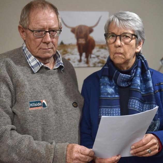 Wayne White and Marj Still are unimpressed that a credit union's bereavement fund is to close....