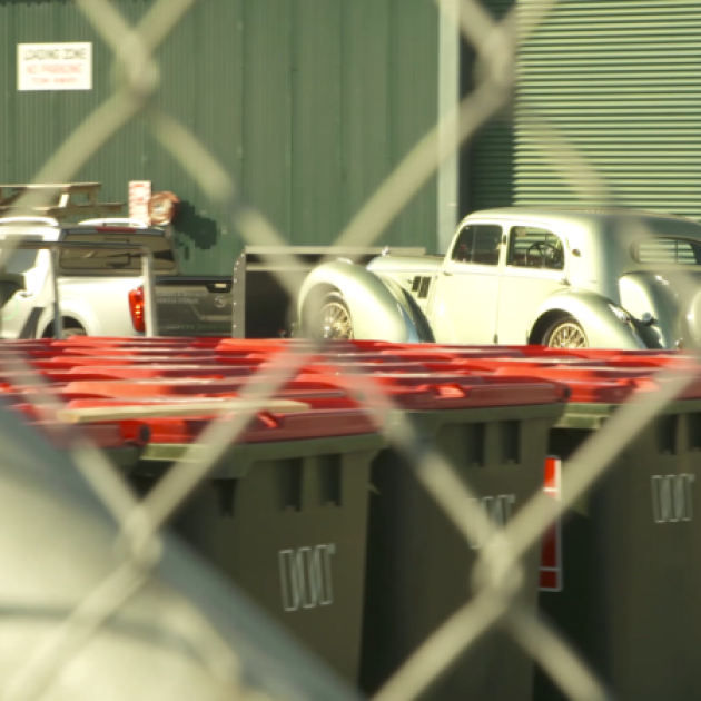 Classic cars being removed from ASB Showgrounds after its sudden liquidation announcement. Photo:...