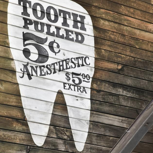 The advertising of dental services divided dentists in a survey in Australia. PHOTO: GETTY IMAGES