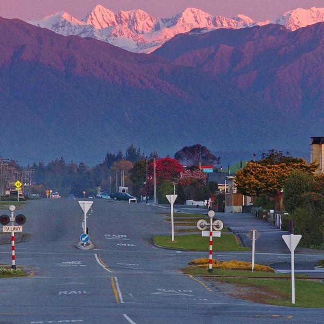 The West Coast highway near Hokitika. Photo: Getty Images
