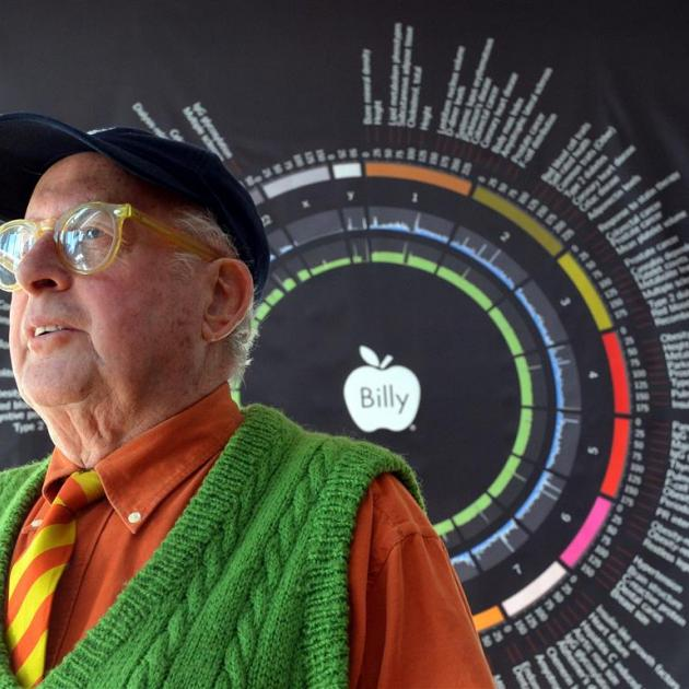 Auckland artist Billy Apple has no problems having his genome displayed for all to see on the...