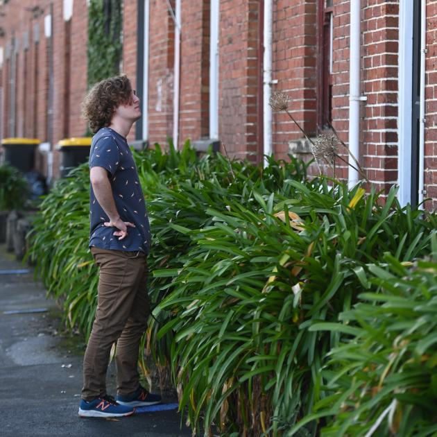 University of Otago student Stewart Ashton and his flatmates have been told they cannot rent...