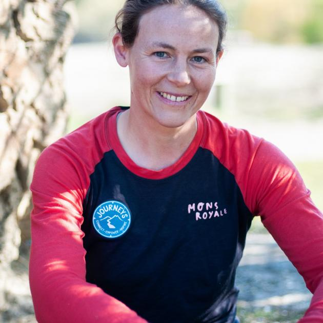 Journeys Central Otago co-founder Megan Longman. PHOTO: SHANNON THOMSON