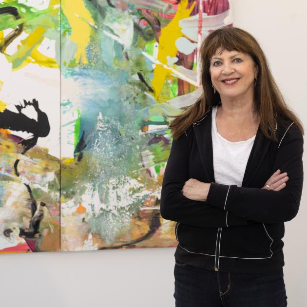 Philippa Blair is exhibiting a range of work from the past 30 years in Dunedin.