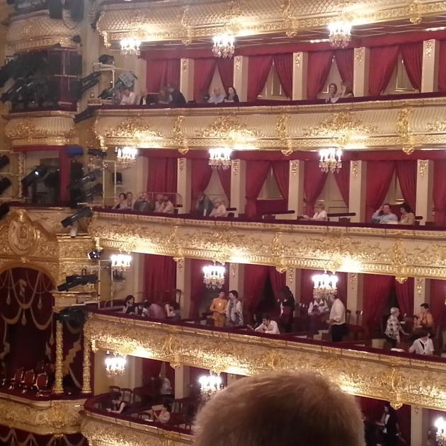 The Bolshoi Theatre. Photo: Chris Worth