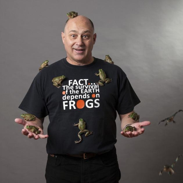 Amphibian expert and advocate the late University of Otago researcher Prof Phil Bishop. PHOTO:...