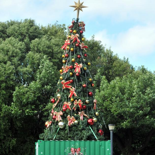 The Mosgiel Christmas Tree in 2013.  PHOTO: OTAGO DAILY TIMES FILES