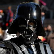 Prowse played Darth Vader in the Star Wars series. Photo: MCT