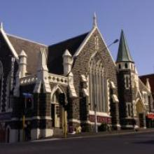 THE FORTUNE THEATRE:   Also owned by the DCC, the building formerly known as the Trinity   Methodist Church is home to Otago and Southland's only professional   theatre.  But it has inadequate toilets and wheelchair access and   suffers from sound leakage