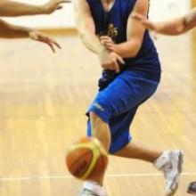Brent Charleton practises with the Otago Nuggets at the Lion Foundation Arena earlier this week. Photo by Craig Baxter.