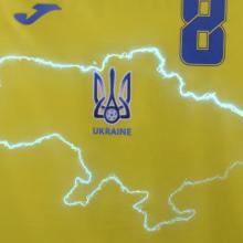 Ukraine's new football shirt includes Crimea. Photo: supplied