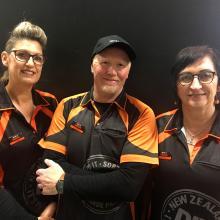 Fiona van Leeuwen, Darryn Jones and Carolyn Leith - Flooring Specialists