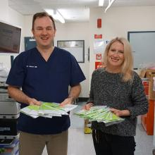 Southern DHB National Bowel Screening Programme Clinical Lead, Dr Jason Hill, and Programme...