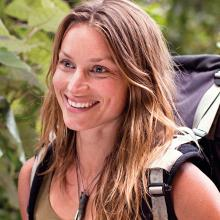 "Billed as ""the female Bear Grylls"", Dutch-born Miriam Lancewood will discuss living off-grid in..."