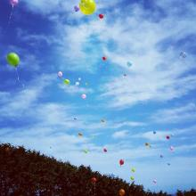 Remembrance...People will release balloons this Sunday to remember babies who had died.