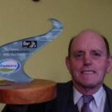 Fonterra Environmentalist of the year awardee Mr Lester Harvey. Photo by Craig Baxter.