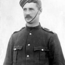 Jack Harvey, the commander of the Clutha Mounted Rifles during the Boer War.