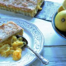 Lemon pie. Photo by Simon Lambert.