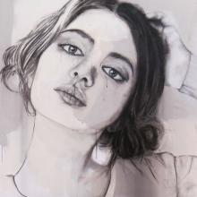 Tentative Poise, by Rachel Sutton.
