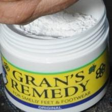A container of Gran's remedy. Photo: ODT