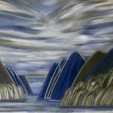 Going Through Fiordland 3, by Marilynn Webb