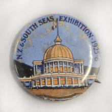 Kevin Casey dropped in this incredible metal badge of the New Zealand and South Seas...