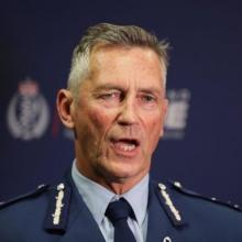 Police Commissioner Mike Bush. Photo: RNZ