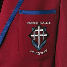 The Kavanagh College crest as it looks now.