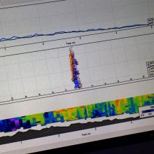 Data captured includes water depth and speed and it is linked to GPS for accurate location...