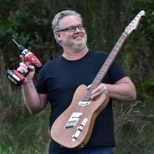 Roel Schouten, of Dunedin, who enjoys crafting beautiful things from wood, has been busy in his...