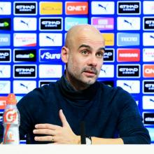 Pep Guardiola. Photo: Getty Images