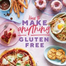 THE BOOK: How to Make Anything Gluten Free,  by Becky Excell, published by Quadrille Books, RRP$45