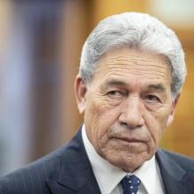 Winston Peters urged voters to back New Zealand First, saying making the wrong decision would...
